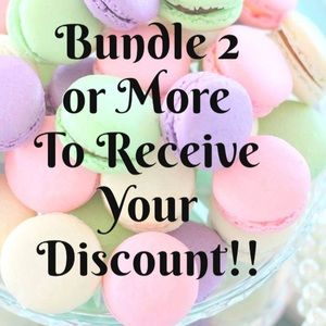 Bundle 2 or more items to receive an offer